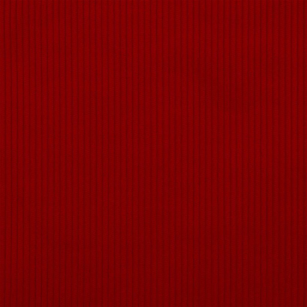 De ongelofelijk slijtvaste stof Corda in de kleur scarlet