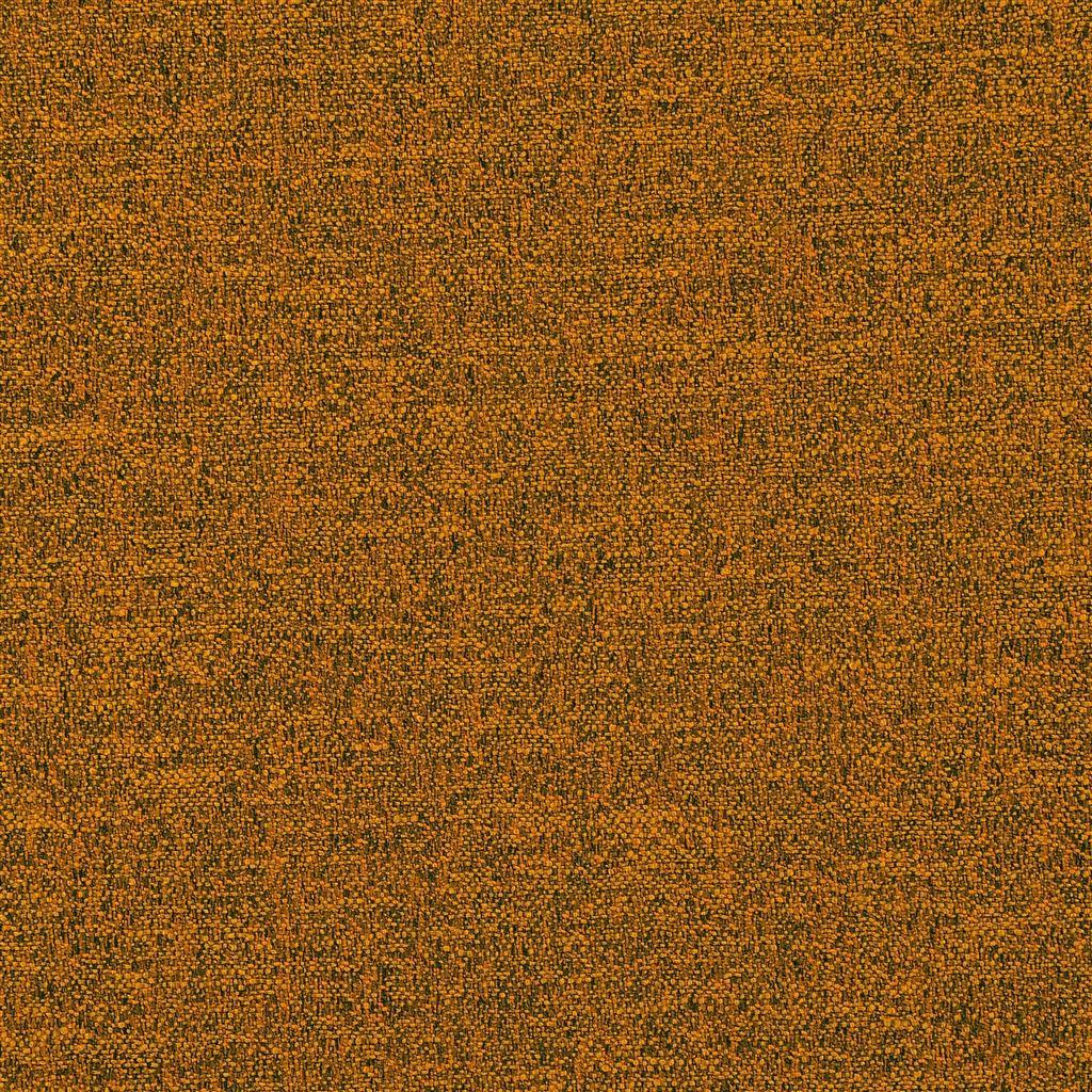 De prachtige veelzijdige stof Eriska in de kleur saffron