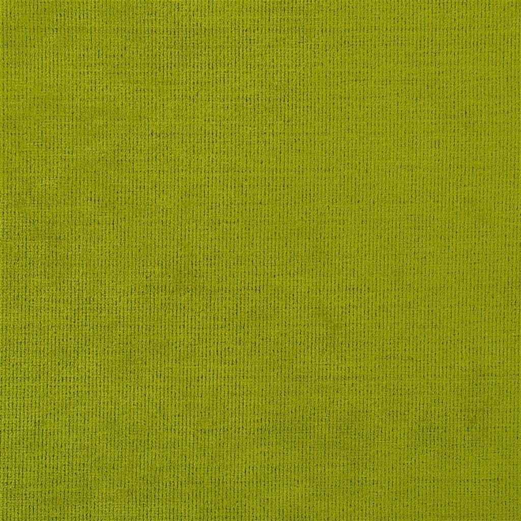 Een prachtige velvet easy clean stof van Designers Guild, Tarazona apple