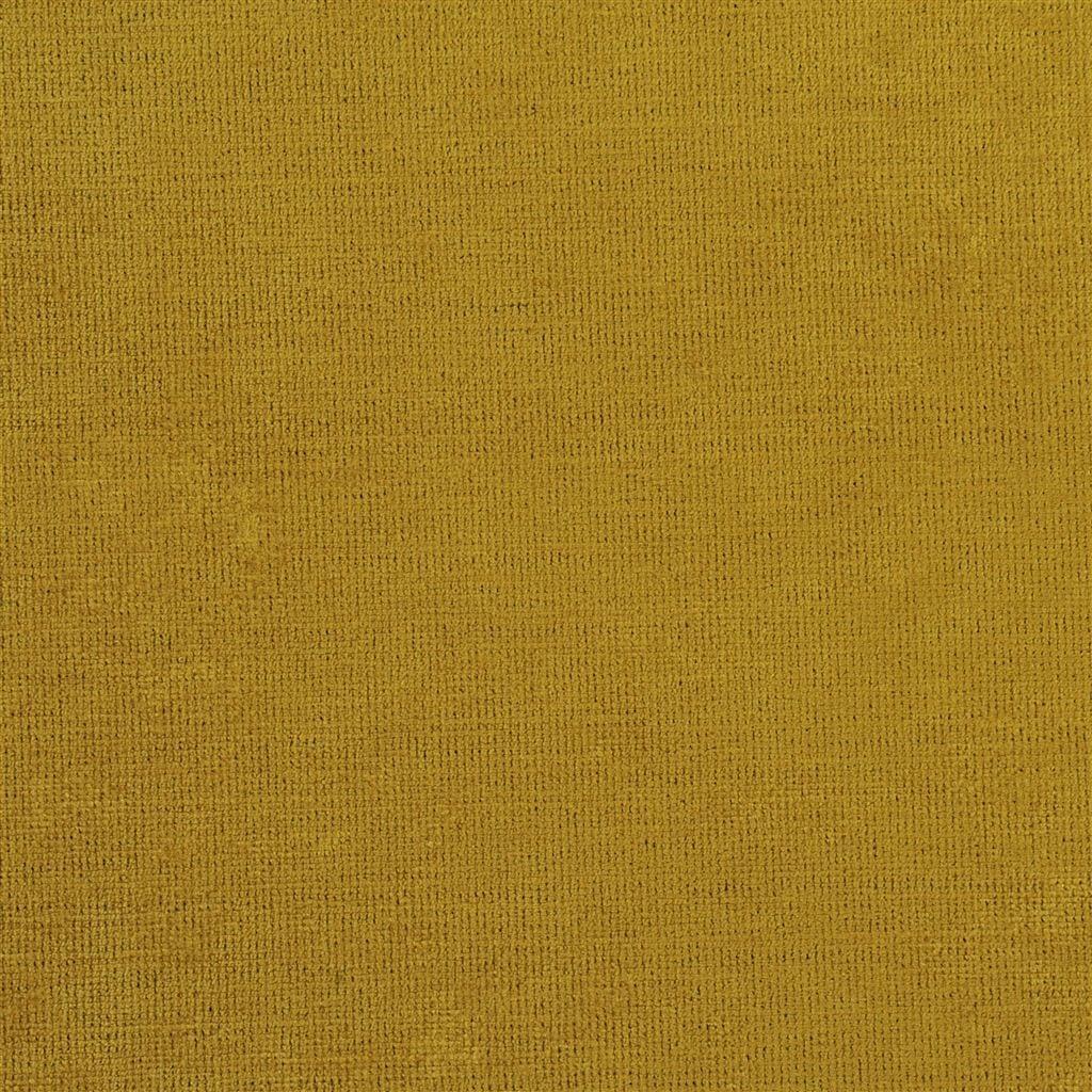 Een prachtige velvet easy clean stof van Designers Guild, Tarazona ochre
