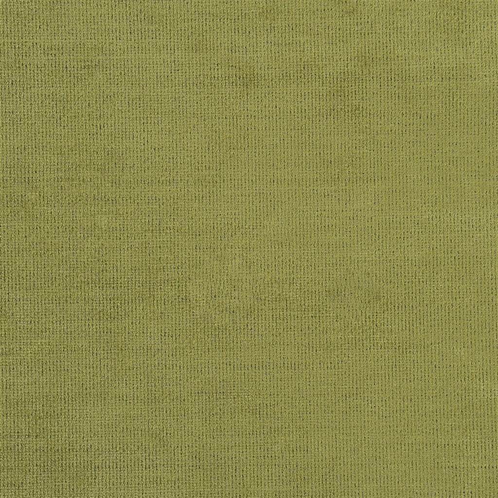Een prachtige velvet easy clean stof van Designers Guild, Tarazona pistachio